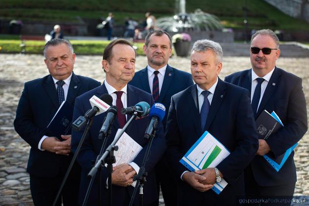 Zarządu województwa podkarpackiego obradował w Przemyślu