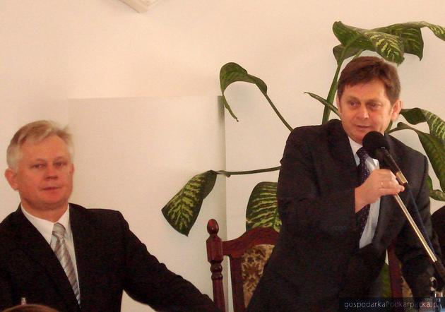 Od lewej Józef Sroka i Waldemar Ślusarczyk