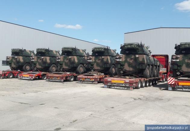 5 Batalion Strzelców Podhalańskich wPrzemyślu otrzymał moduł Rak