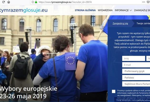 """""""Tym razem głosuję"""" - kampania Parlamentu Europejskiego"""