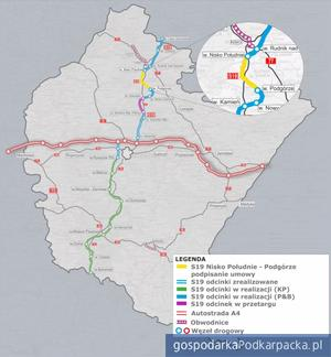 Umowa na budowę S19 Nisko Południe do węzła Podgórze podpisana