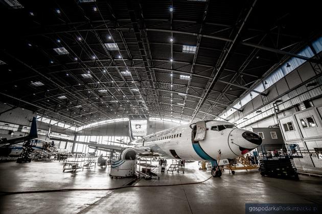 Boeing linii NordStar Airlines na przeglądzie w Linetech