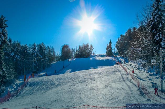 Stok narciarski w Czarnorzekach czeka już na narciarzy