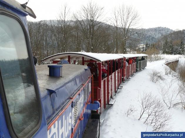 Bieszczadzka kolejka rozpoczyna zimowy sezon