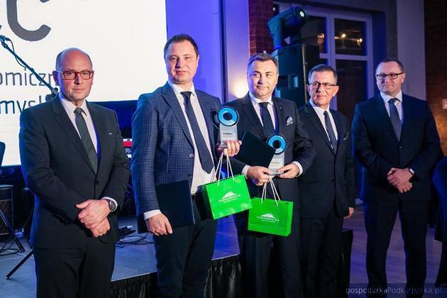Nagrody dla firm ze strefy Euro-Park Mielec za 2018 r.