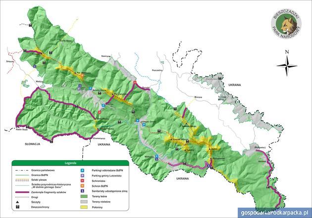 Stan szlaków w Bieszczadach – początek lutego 2019