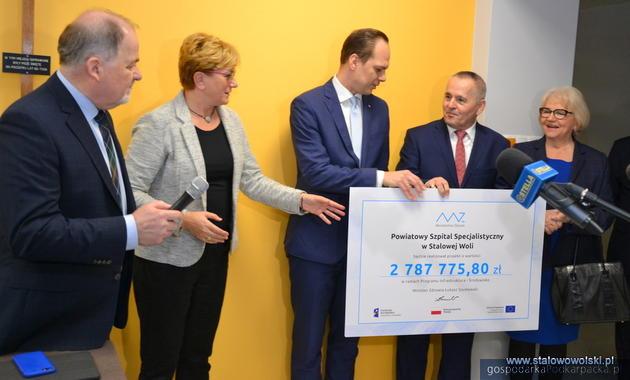 Pieniądze na doposażenie SOR-u szpitala w Stalowej Woli