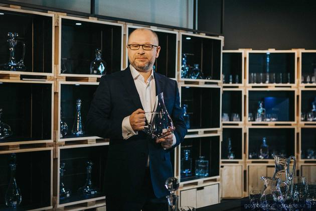 Paweł Szymański, prezes i właściciel Krosno Glass S.A.