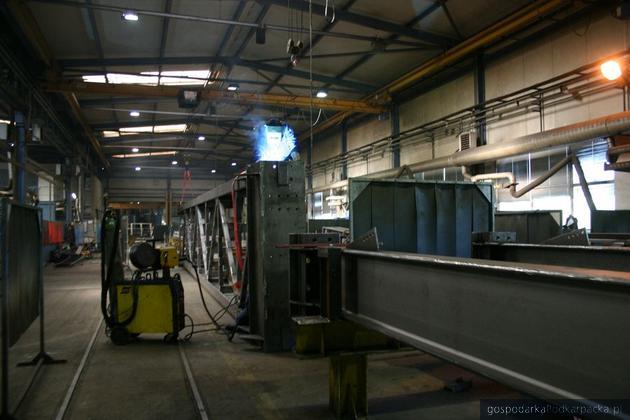 Jedna z hal produkcyjnych Transsystemu w Woli Dalszej, fot. Adam Cyło