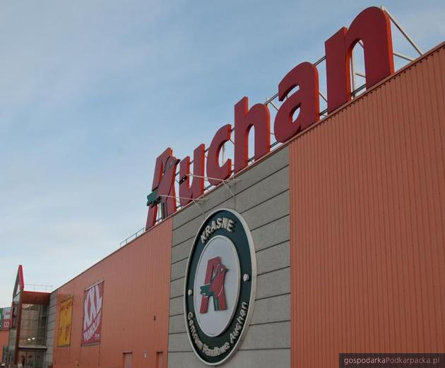 Pożar i ewakuacja w Auchan Krasne - 19 marca 2019