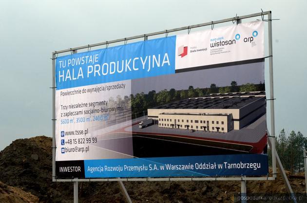 W Stalowej Woli rozpoczęła się budowa hali Agencji Rozwoju Przemysłu