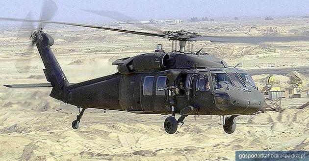 Black Hawk na Air Show w Radomiu