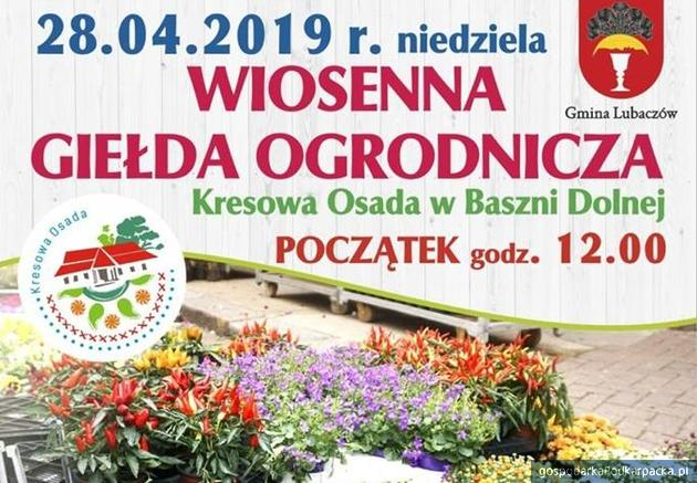 Wiosenna Giełda Ogrodnicza 2019 w Baszni Dolnej