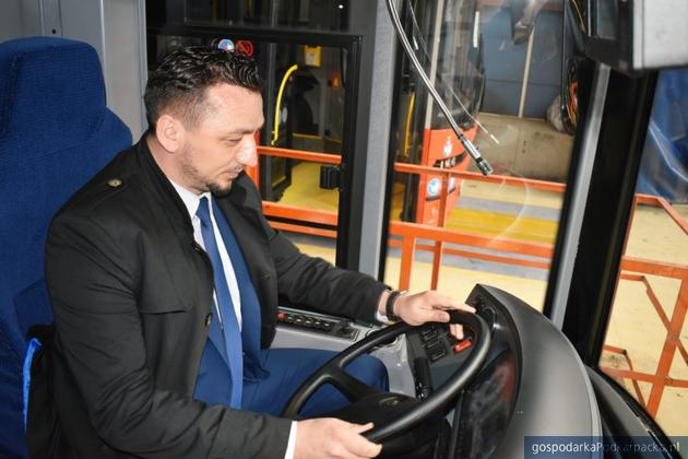 Burmistrz Sanoka Tomasz Matuszewski