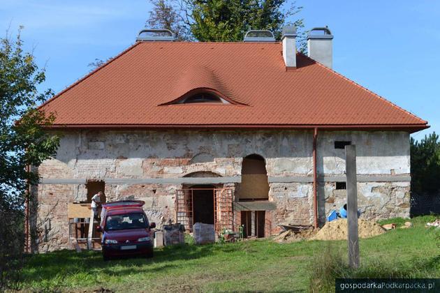 Spichlerz w Zgłobniu. Znany jest wykonawca dalszej renowacji