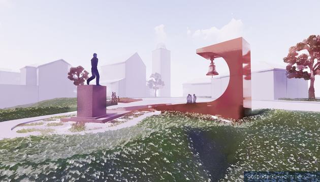 Koncepcje dzwonnicy dla rzeszowskiego dzwonu niepodległości