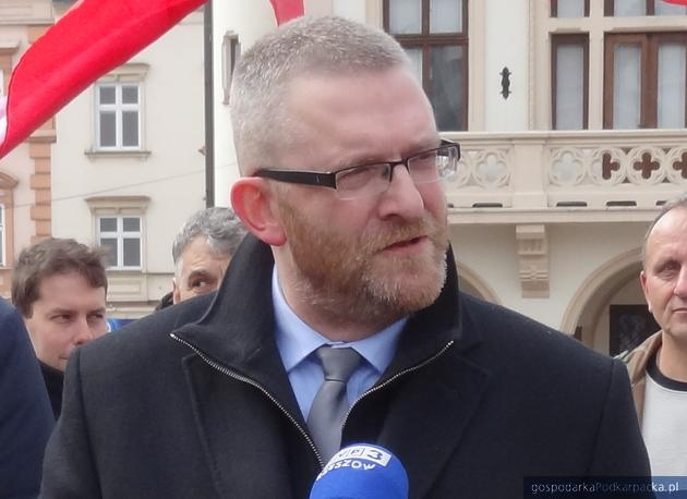 Grzegorz Braun. Fot. Adam Cyło