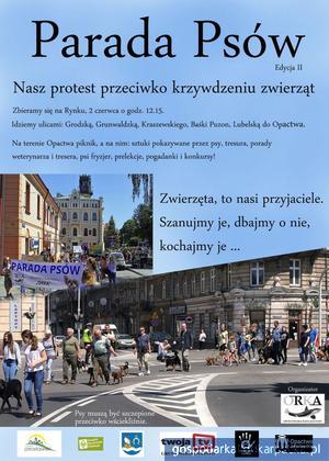 II Parada Psów w Jarosławiu już 2 czerwca