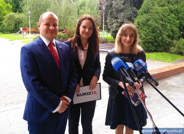 Od lewej Maciej Masłowski, Alicja Bobola i Ewelina Nycz