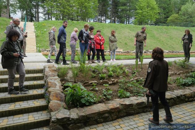 Ogród edukacyjny w Wołosatem oficjalnie otwarty
