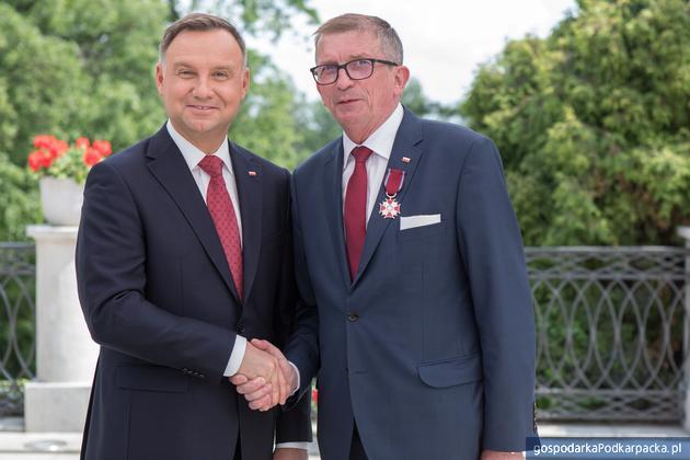 Zbigniew Tymuła odznaczony przez prezydenta Andrzeja Dudę