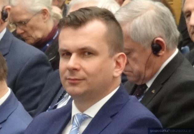 Adam Hamryszczak, prezes Portu Lotniczego Rzeszów-Jasionka