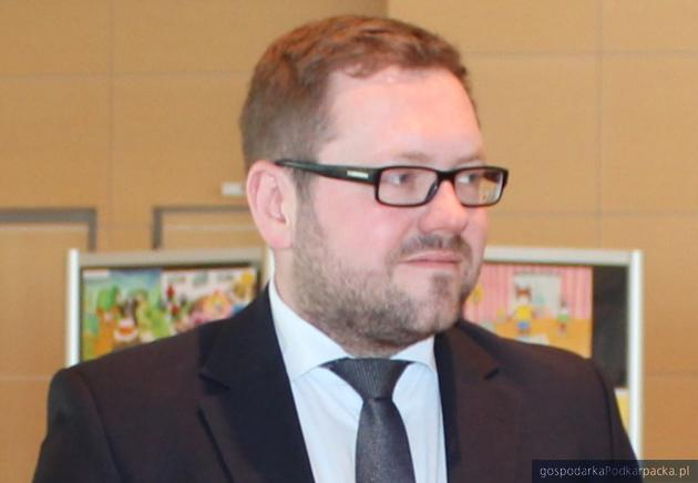 Michał Tabisz, wiceprezes Portu Lotniczego Rzeszów-Jasionka