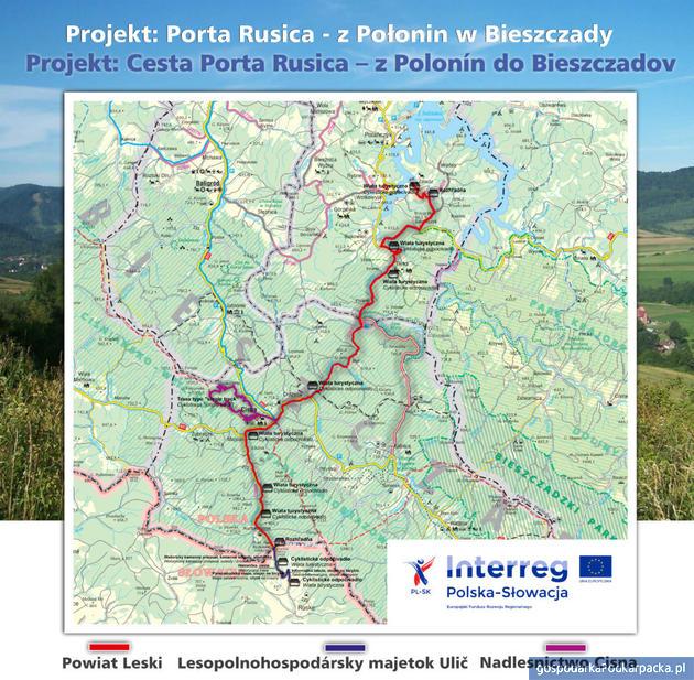 """Porta Rusica """"Z Połonin w Bieszczady"""". Rozpoczyna się realizacja projektu"""