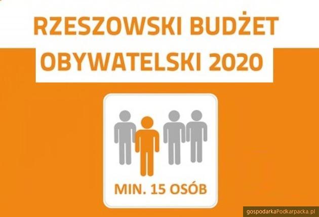 Wnioski do Rzeszowskiego Budżetu Obywatelskiego złożone
