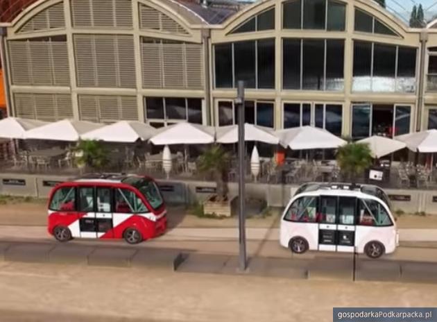 Autonomiczny minibus w Rzeszowie. Miasto szuka natchnienia w Lyonie