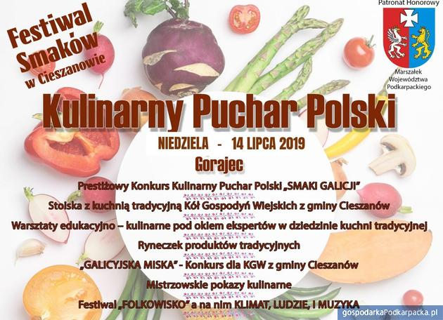 "Kulinarny Pucharu Polski ""Smaki Galicji"" w Gorajcu"