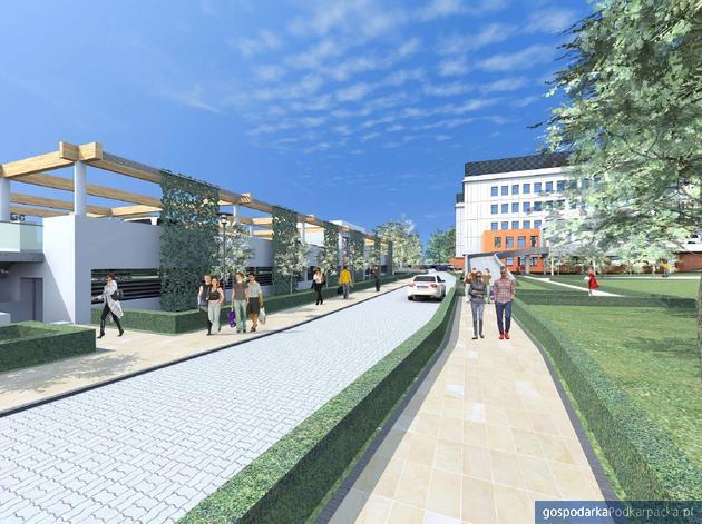 Przy szpitalu MSWiA w Rzeszowie powstanie dwupoziomowy parking