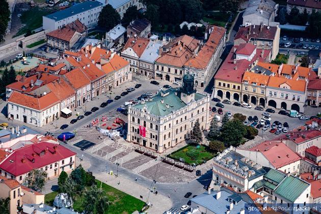 Jarosław, widok Rynku. Fot. Tadeusz Poźniak