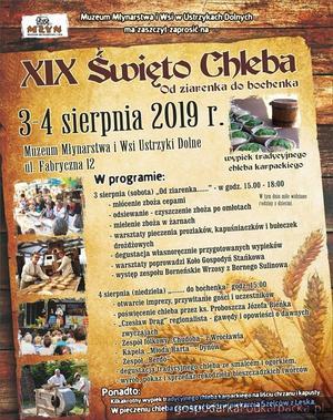 XIX Święto Chleba w Ustrzykach Dolnych