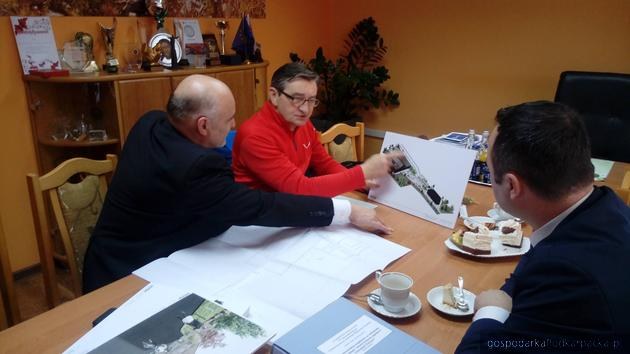 Marek Kuchciński na spotkaniu z bieszczadzkimi samorządowcami. Fot. starostwo bieszczadzkie
