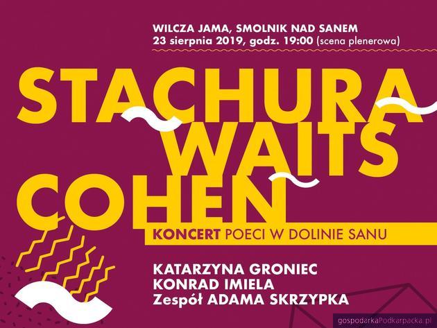 """""""Stachura, Waits, Cohen"""" w Smolniku. Koncert """"Poeci w Dolinie Sanu"""""""