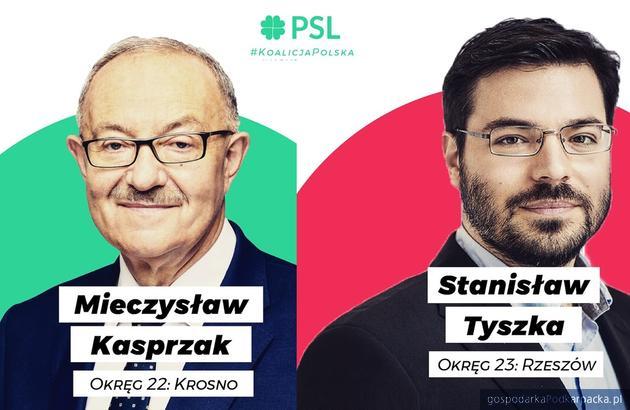 Tyszka i Kasprzak – podkarpackie jedynki  PSL – Koalicji Polskiej