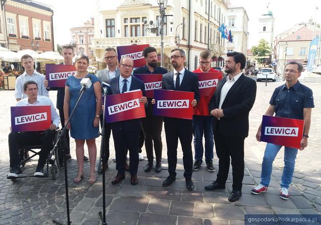 Lewica zaprezentowała czołowych kandydatów na Podkarpaciu