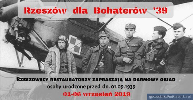 """""""Rzeszów dla Bohaterów '39"""" - akcja rzeszowskiej gastronomii"""