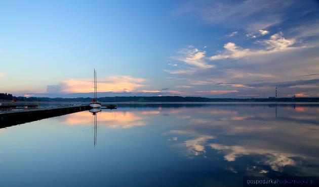 Fot. strona jeziora tarnobrzeskiego