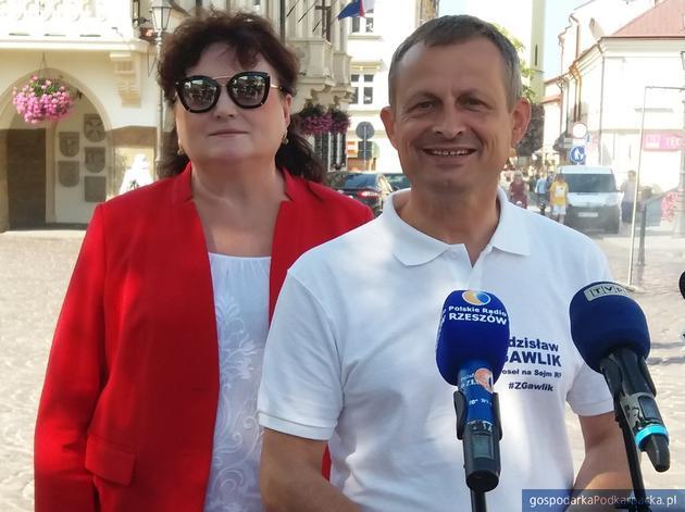 Lidia Błądek i Zdzisław Gawlik