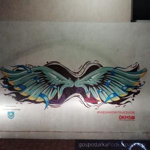 Fundacja DKMS ma swój mural w Tarnobrzegu