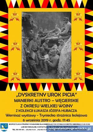 """""""Dyskretny urok picia. Manierki austro-węgierskie z okresu Wielkiej Wojny"""""""