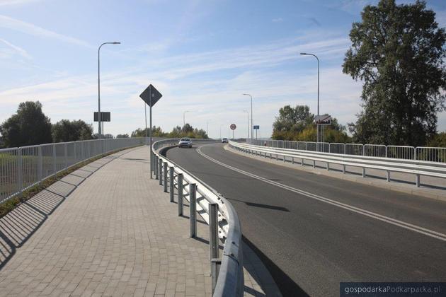 Nowy most na Wisłoku powstał w Czarnej k. Łańcuta