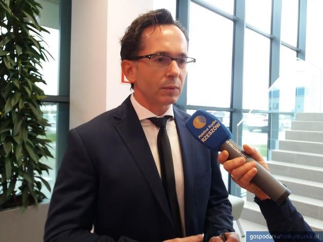 Adam Straż, dyrektor zakładu