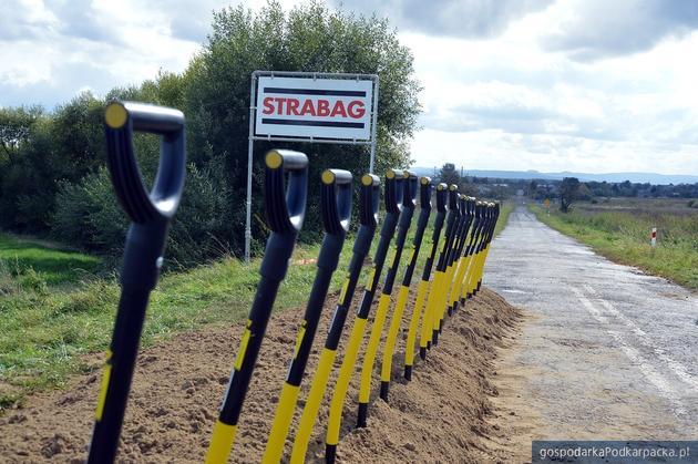 Rozpoczęła się przebudowa drogi Przemyśl - Malhowice