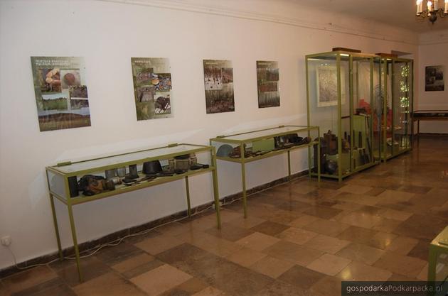 Relikty z pól bitewnych w muzeum w Dukli