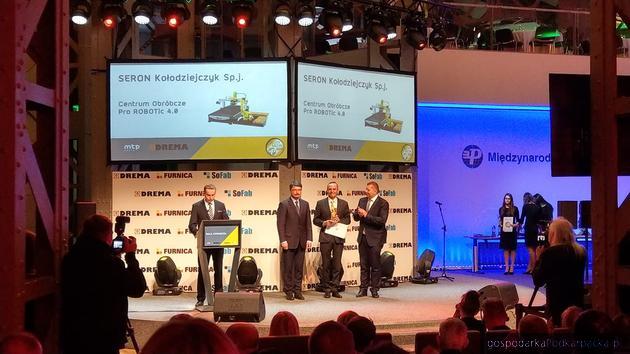 Firma Seron ze złotym medalem Międzynarodowych Targów Poznańskich