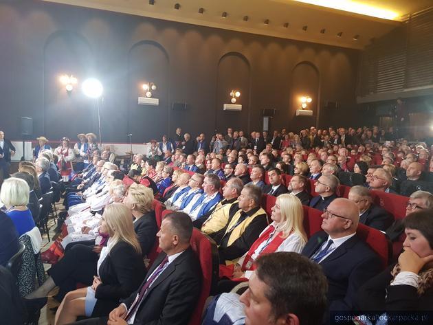 Na konwencji PiS w Krośnie. Fot. twitter/pisorgpl