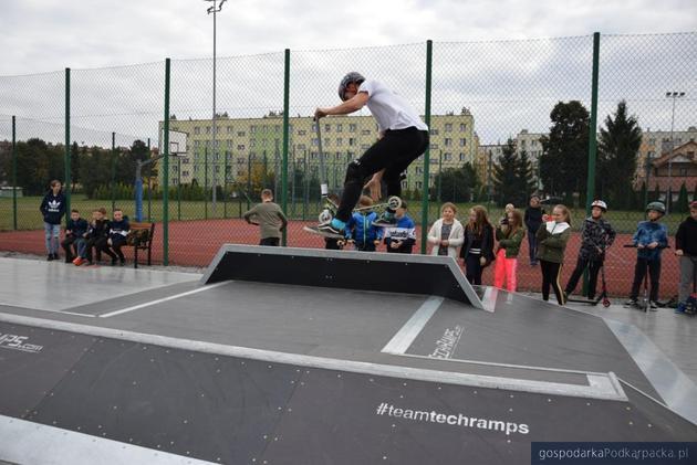 Skatepark w Sędziszowie Małopolskim już otwarty